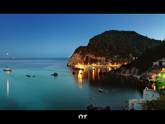 __/ (Nikos Thita) Tags: longexposure sea water night lights star mark iii scape flares eos1ds
