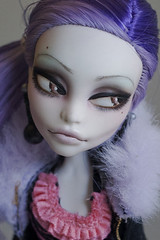 Prinka close-up (Hiritai) Tags: monster high dolls customized spectra custom repaint repainted prinka vondergeist