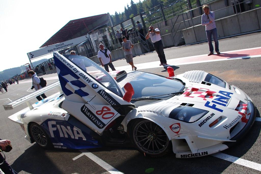 Spa 6 Hr Masters Sept 2011 - McLaren F1 GTR 2