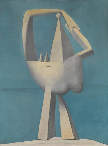 Pablo Picasso - Nude Standing by the Sea [1929] by Gandalf's Gallery