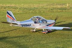 G-CDAP - heading to parking (egcc) Tags: manchester 912 eurostar barton microlight rotax cityairport ev97 2114 cosmik mainair aerotechnik egcb gcdap