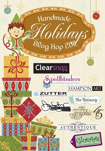 Handmade Holidays Blog Hop 2011 Logo 1000x