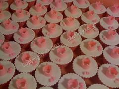 Crown cupcakes (Niki SG) Tags: birthday pink baby art cakes girl cookies cake cupcakes candy princess handmade dora sugar baptism fairy cupcake fondant sugarart  glyka               sketi    sketiglyka sketiglykagr        mermaid