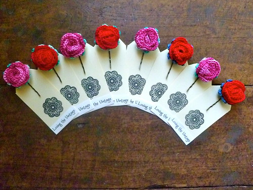 Grandma Rosie Hair Pins...
