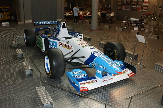 museum f1 motor salamanca b195 rs7 benettonrenault