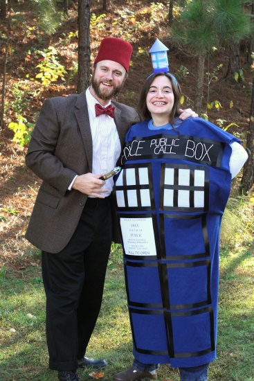 Dr. Who & his Tardis