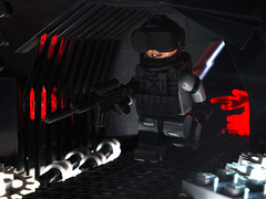 Through The Tunnel ([N]atsty) Tags: light amazing mod lego explosion hazel ama figure minifig armory m4 zone kil minifigure brickarms
