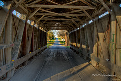 Chambers Road, Covered Bridge, Delaware County Ohio (TxSportsPix) Tags: bridge autumn ohio hdr marengo 24105mmf4 canon7d txsportspix