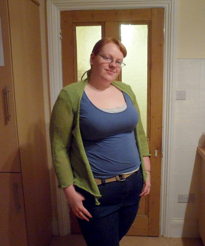 Hannah Fettig Wispy Cardi Whisper Cardigan Knitbot Interweave Knits