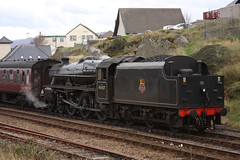 LMS 45407 Mallaig (Neil Sutton Photography) Tags: scotland steamlocomotive mallaig lms jacobite scottishhighlands westhighlandline black5 45407 westcoastrailways brblacklivery