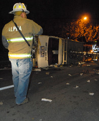 111011_mjt_riots news van (little.unit) Tags: pennstate statecollege firefighter riots newsvan alphafirecompany wtajtv10