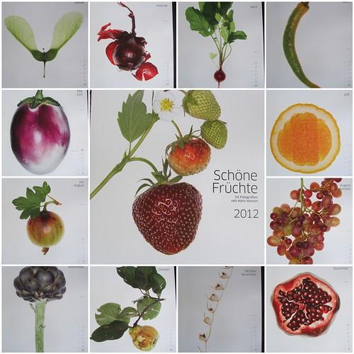Kalender Schöne Früchte 2012