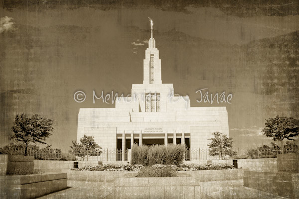 Draper Vintage LDS Temple Prints -2-2