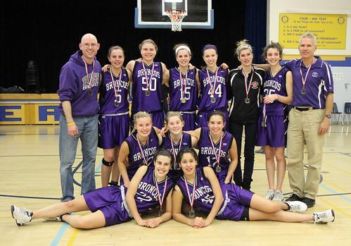 Sr. Girls Basketball Silver - Beaver Brae Broncos