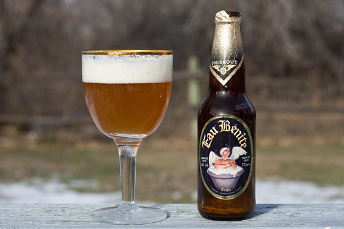 Review: Unibroue Eau Bénite by Cody La Bière