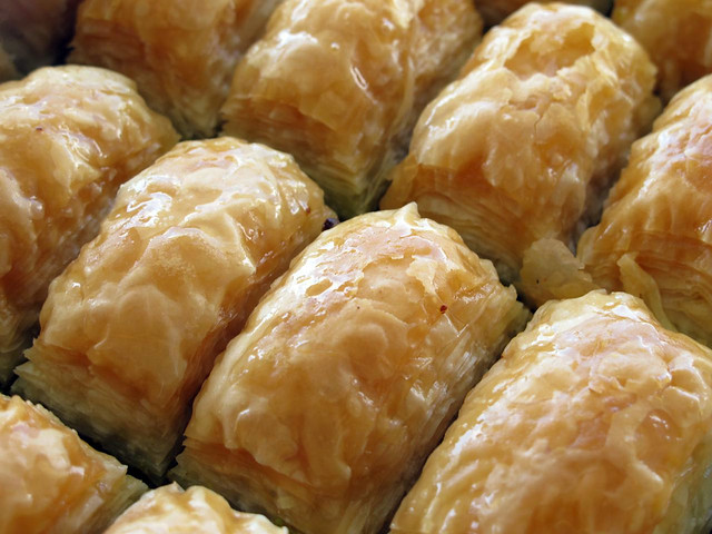 Baklavas, directly from Istanbul
