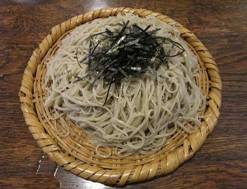 安曇野産新蕎麦ざる大盛 2011年11月12日 by Poran111