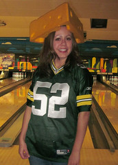 Leigh Grignon Saraveza's Packer lady!
