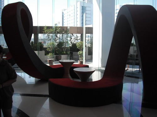 Gorgeous Furniture pieces at F1 Hotel