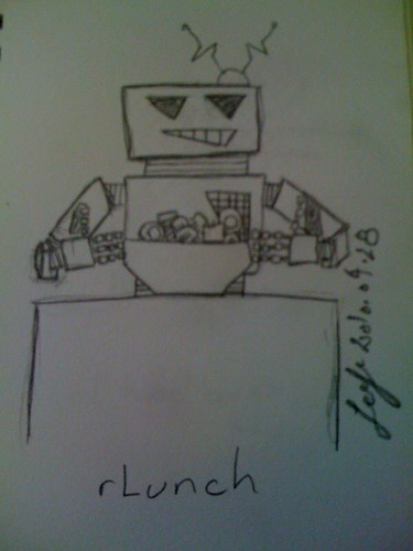 rLunch - is your robot feeling hungry? by TenguTech