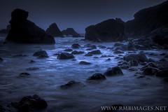 Blue Rock (Bob Bowman Photography) Tags: ocean california sea beach water canon rocks waves cliffs rugged shellbeach sonomacoastline doubleniceshot tripleniceshot rmbimages