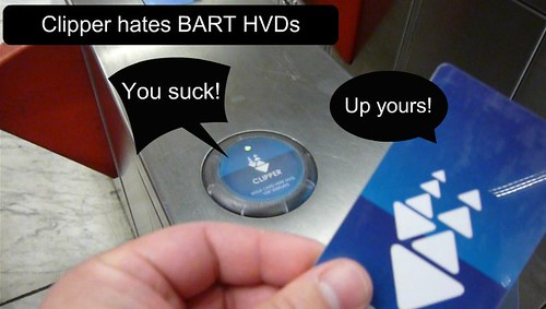BART Gate & Clipper Card