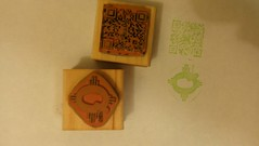 New quelab hackerspace passport stamps (killbox) Tags: stamps passport qrcode mobileposted quelab