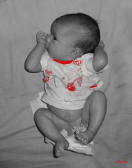 Carolina (blushy_vr46) Tags: nia carolina bebe felicidad nacimiento pequea