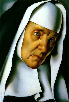 Lempicka, Tamara de (1898-1980) - 1939 Mother Superior (Musee des Beaux-Arts de Nantes, France)