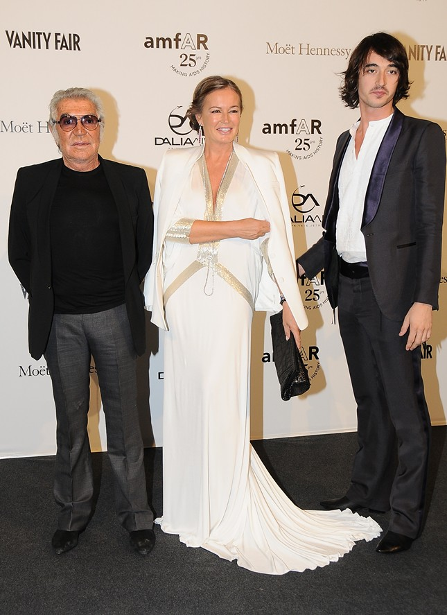 amfAR benefit, held yesterday, Friday September 23rd 2011 - cavalli