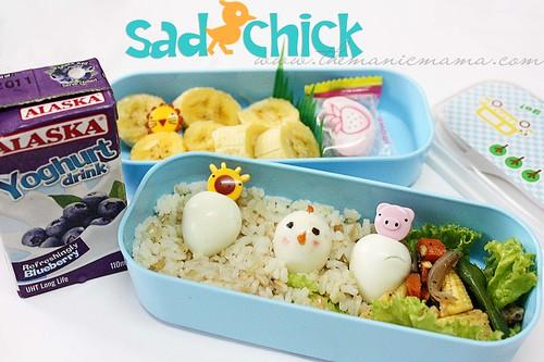 sad chick