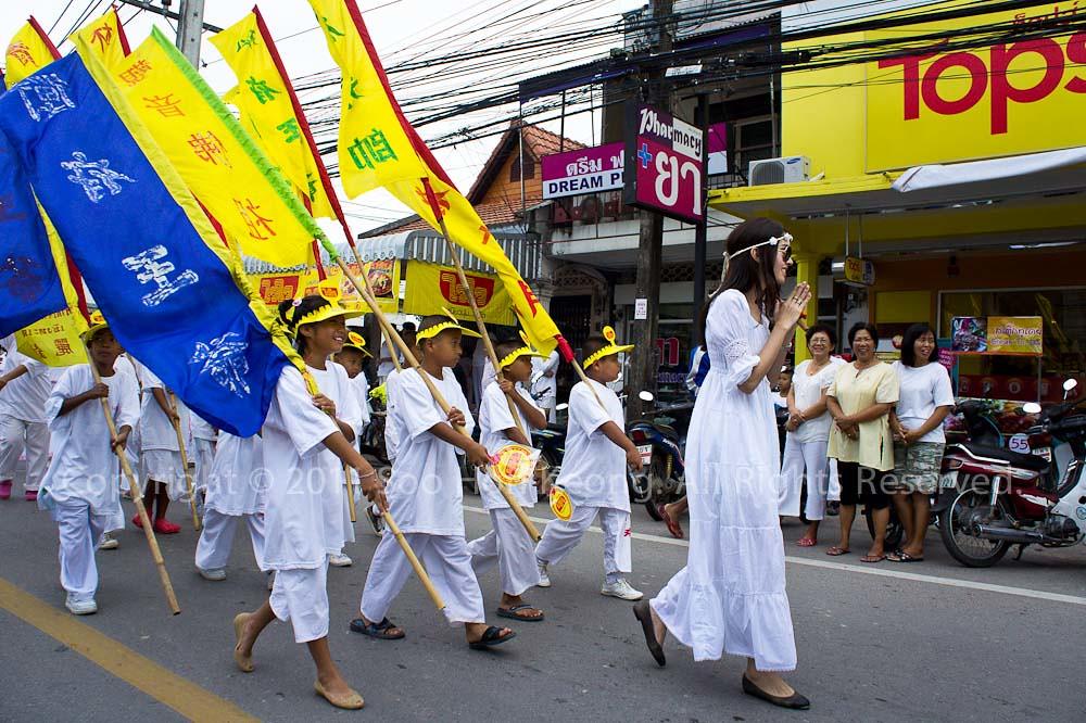 Phuket Vegetarian festival 2011 @ Phuket, Thailand