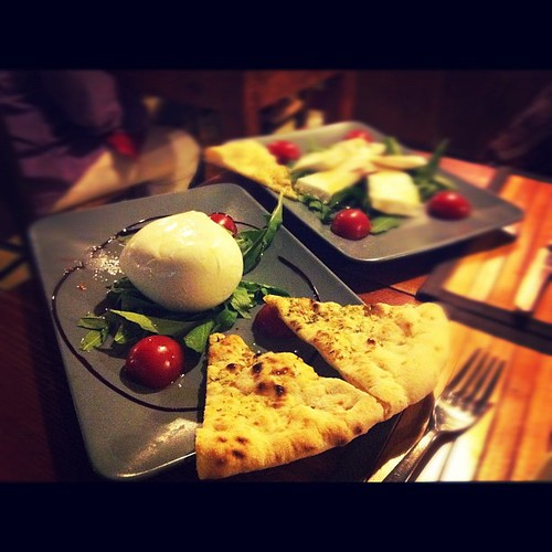 Bon appétit to everyone! #mozzarella in #Naples