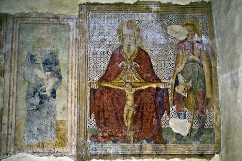 Magliano in Toscana (GR), Church Frescoes
