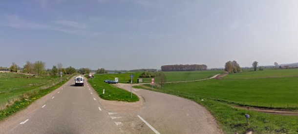 Rectsaf: Persingensestraat, 3 km.