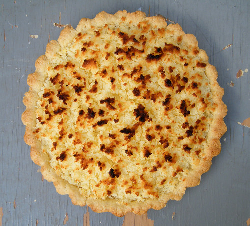 Coconut and Dulce de Leche Tart | Tarta de Coco y Dulce de Leche by katiemetz, on Flickr