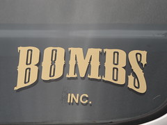 Logo (bballchico) Tags: shaketheshackcarshow seattle chevrolet patronsccseattle decal bombsinc 206 washingtonstate patrons car club