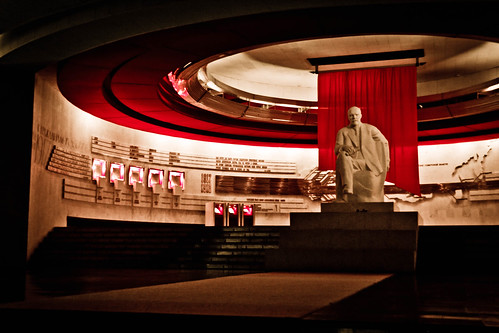 Внутри храма Ленина / Inside the Temple of Lenin