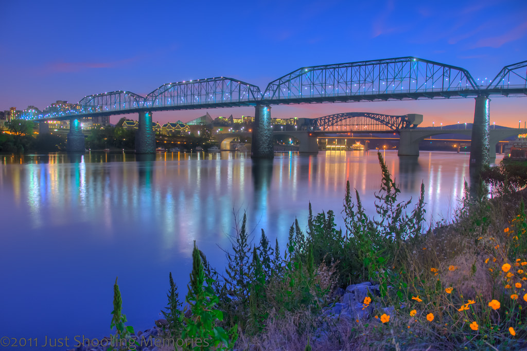 Chattanooga Skyline at Dusk