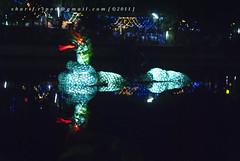 The Dragon (Sharif Ripon (totographer)) Tags: light moon reflection water festival night religious dragon buddhist prayer decoration buddhism full gettyimagesbangladeshq2