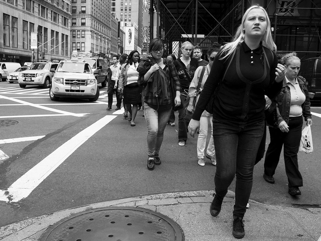 Crosswalk, Midtown