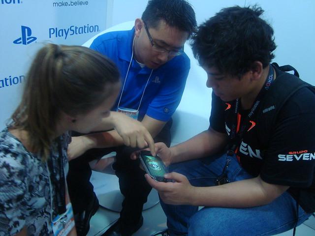 PlayStation Vita no Brasil: Público Jogando