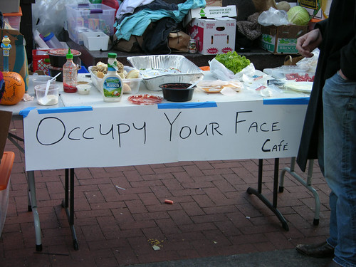 Occupy Your Face Cafe