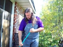 Key Sweeping (Jaquandor) Tags: key overalls hickorystripe