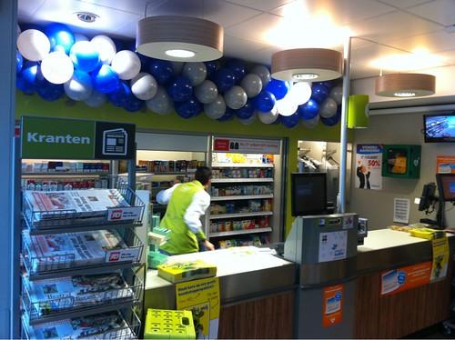 Ballonslinger Grijs Blauw Plus Supermarkt Delft Hockeyplaatjes Aktie