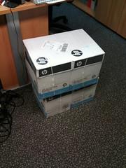 Papierlieferung Oktober 2011