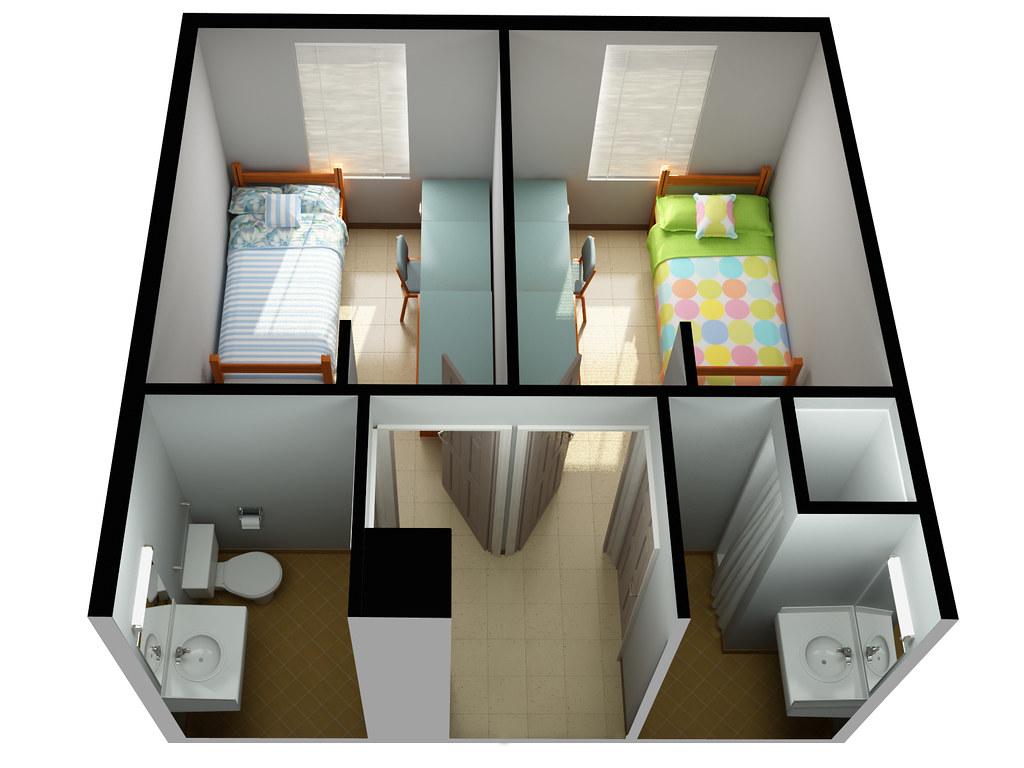 Uf Dorms Floor Plans Two Bedroom House Floor Plans House Floor Plans Two