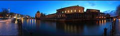 Berlin Museumsinsel (P H O T O W A H N) Tags: city panorama berlin skyline deutschland europa dom hauptstadt kathedrale kirche stadt architektur blau spree eis museumsinsel historisch abends blauestunde gefroren gewässer stadtkern frankherrmann