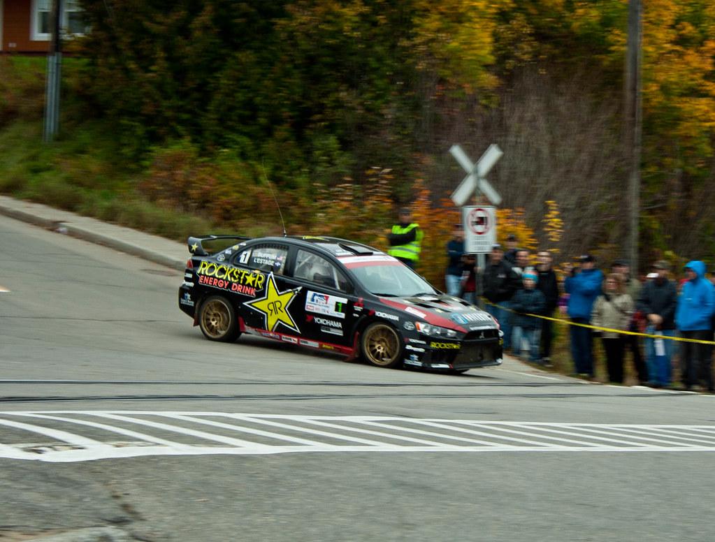 Antoine L'Estage - Rallye de Charlevoix 2011