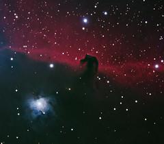 The Horsehead Nebula (Joshua Bury) Tags: longexposure reflection stars nebula astrophotography physics astronomy dust ic434 astrophysics emission darknebula sbig horseheadnebula b33 ngc2023 barnard33 cgem c925 Astrometrydotnet:status=solved st4000xcm Astrometrydotnet:version=14400 Astrometrydotnet:id=alpha20111057607230